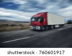 rural landscape with road and...   Shutterstock . vector #760601917