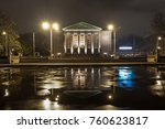 night view of the great theater ... | Shutterstock . vector #760623817