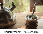 yerba mate is more than just... | Shutterstock . vector #760626103