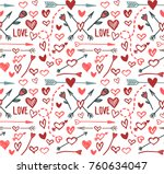 love background  vector | Shutterstock .eps vector #760634047