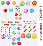raster illustration of a raster ... | Shutterstock . vector #76064548