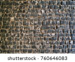 cobblestone texture  can be... | Shutterstock . vector #760646083