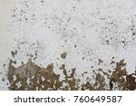 the old white  grey grunge... | Shutterstock . vector #760649587