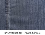 texture background jeans with... | Shutterstock . vector #760652413