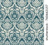 seamless victorian pattern....   Shutterstock .eps vector #760662157