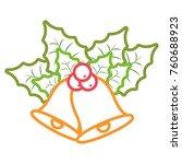 christmas bells icon    Shutterstock .eps vector #760688923