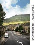 Cross Hills Yorkshire Uk July...