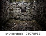 Abandoned Store House Hall Wit...