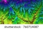 3d render of geology  soil...
