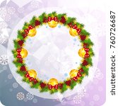 holiday background with...   Shutterstock .eps vector #760726687