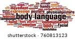 body language word cloud... | Shutterstock .eps vector #760813123