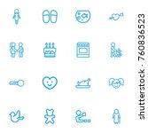 set of 16 editable kin outline...