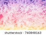 colorful grass flower abstact... | Shutterstock . vector #760848163