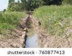 Drainage For Paddy Field. Ther...