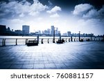 shanghai modern building | Shutterstock . vector #760881157