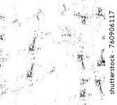 grunge black and white pattern. ... | Shutterstock . vector #760906117