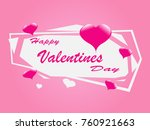 happy valentines day for... | Shutterstock .eps vector #760921663