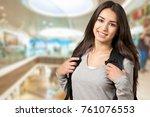 girl  young  cute. | Shutterstock . vector #761076553