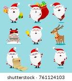 Santa Claus Set. Christmas....