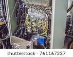 control pannels of a...   Shutterstock . vector #761167237
