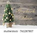golden decorated christmas tree ... | Shutterstock . vector #761287807