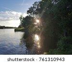 landscape nature lake  | Shutterstock . vector #761310943