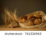 natural healthy food | Shutterstock . vector #761326963