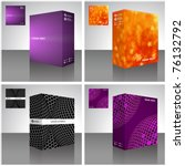 software package box. product... | Shutterstock .eps vector #76132792