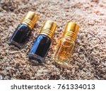 fragrant oil. scented oil.... | Shutterstock . vector #761334013