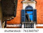 window in italy | Shutterstock . vector #761360767