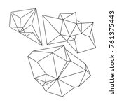 cristal vector illustration... | Shutterstock .eps vector #761375443