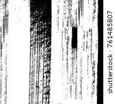 vector black and white grunge...   Shutterstock .eps vector #761485807