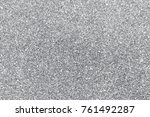 silver background abstract... | Shutterstock . vector #761492287