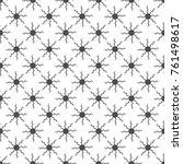 seamless pattern. geometric... | Shutterstock .eps vector #761498617