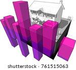 3d illustration of classic... | Shutterstock . vector #761515063