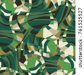 abstract vector  military... | Shutterstock .eps vector #761525527