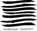 edges vector set . design...   Shutterstock .eps vector #761537377