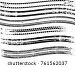 vector print textured tire...   Shutterstock .eps vector #761562037