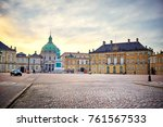 amalienborg  royal danish... | Shutterstock . vector #761567533