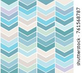 blue tinted seamless zig zag... | Shutterstock .eps vector #761568787