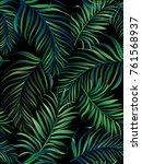 exotic tropical vector... | Shutterstock .eps vector #761568937