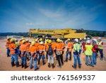 kuala lumpur  malaysia  ...   Shutterstock . vector #761569537