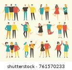 vector illustration in a flat... | Shutterstock .eps vector #761570233