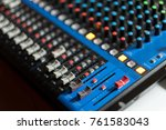 big sound control | Shutterstock . vector #761583043