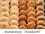 set of various american style... | Shutterstock . vector #761661697
