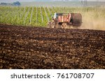 natural manure agro bio... | Shutterstock . vector #761708707