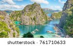 in  philippines  view from a... | Shutterstock . vector #761710633