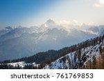 Magic Winter Landscape Monte...