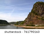 Small photo of The Loreley cliffs on the Rhine river