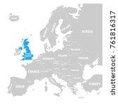 uk  united kingdom of great...   Shutterstock .eps vector #761816317